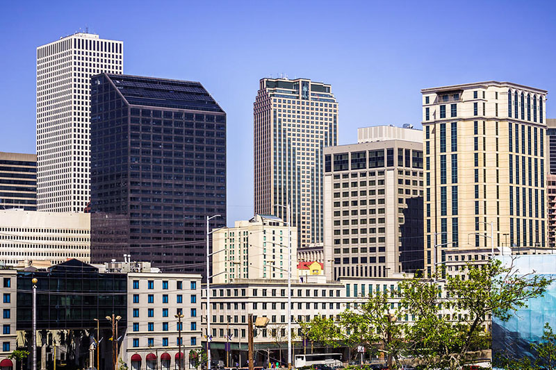 Downtown New Orleans Buildings